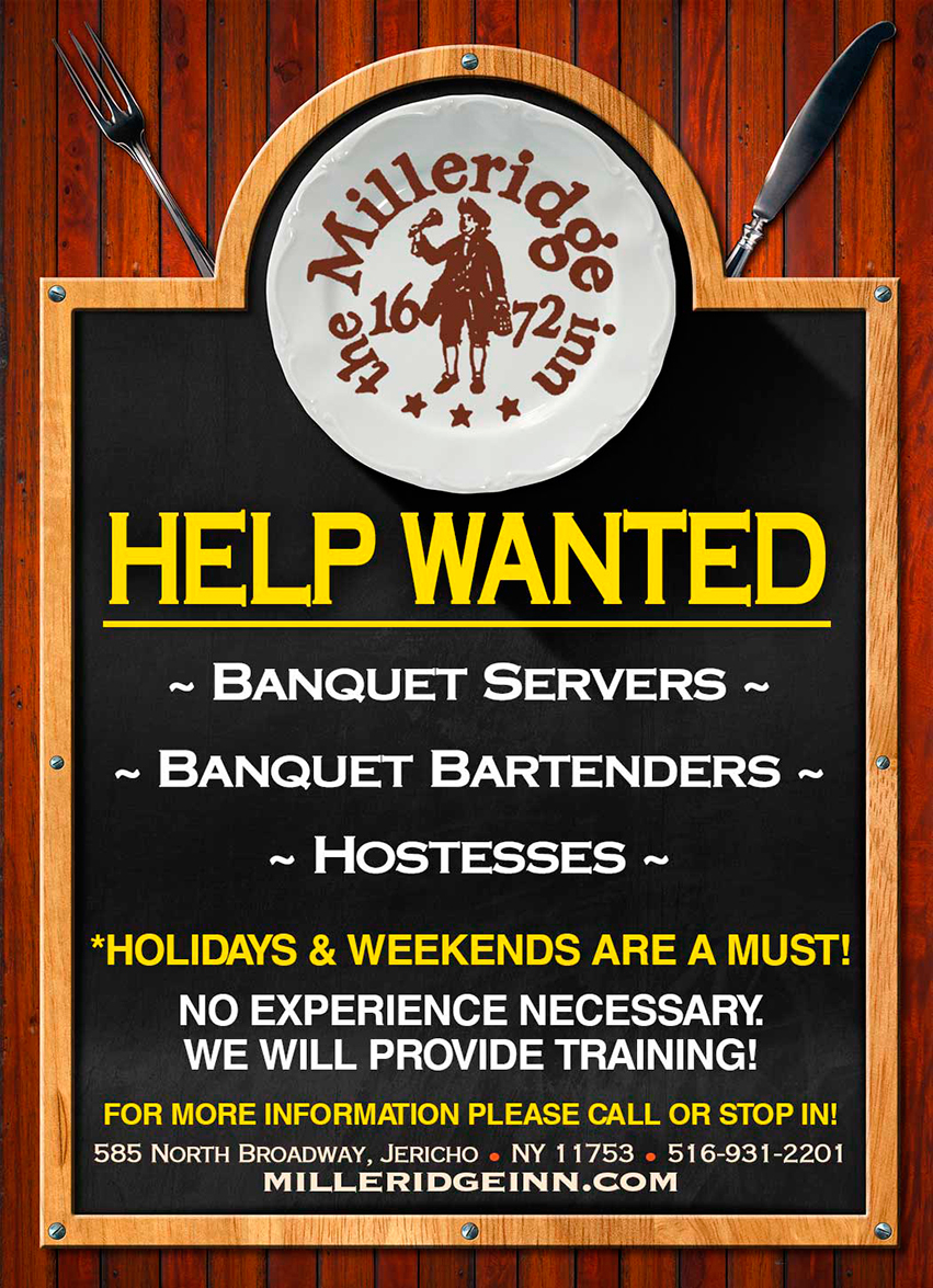 Help Wanted Flyer Upcoming Events The Dover Group